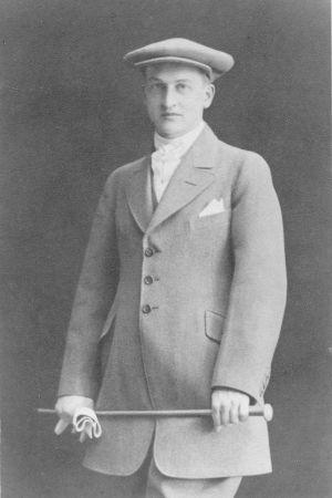 En ung Lars Eric Krogius.