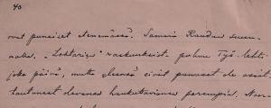 Toivo Kuulan kirje 17. maaliskuuta 1918.