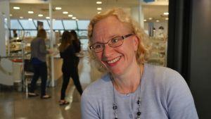 Arja Kosonen är vd för restaurangkedjan Unicafe.