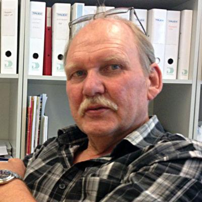 Håkan Westermark i sitt kontor