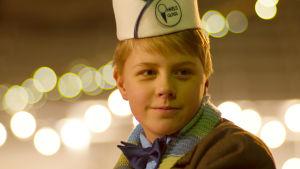 Felix (Robin Wegelius) från kortfilmen Dans på tunn is.