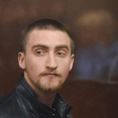 Pavel Ustinov i rättssalen den 16 september.