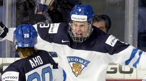 Sebastian Aho, Jesse Puljujärvi och Patrik Laine