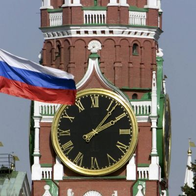 Spasskajatornet i Kreml