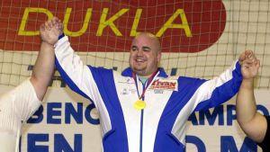 Kenneth Sandvik på prispallen