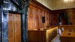 Rättssalen (Här satt de anklagade)