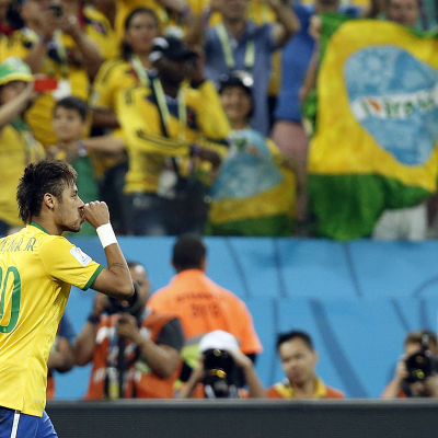 Neymar och Brasilien gäller som favorit.