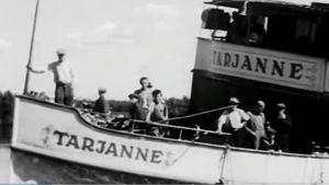 Höyrylaiva Tarjanne (1945).