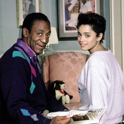 Bill Cosby ja Lisa Bonet The Cosby showsta.