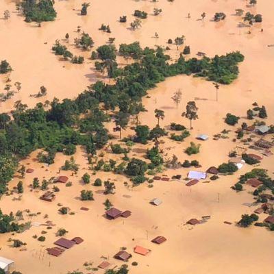 Pato petti tuhoisin seurauksin Laosissa