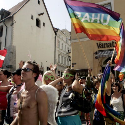 Prideparad i Tallinn.