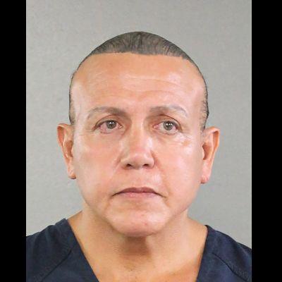 Den misstänkta brevbombaren Cesar Sayoc på en bild tagen den 1 augusti 2015.