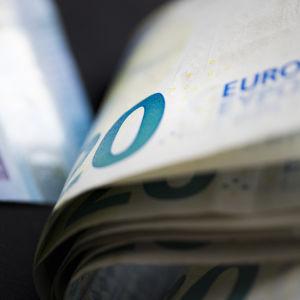 Eurosedel, värde 20 euro.