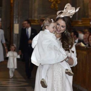 Prinsessan Madeleine med dottern Eleonore.