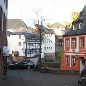 Saarburgin keskusta