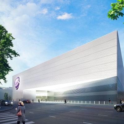 Visualisering av Soneras datacenter i Helsingfors