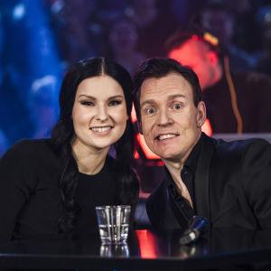 Annica Milán & Kimmo Blom Uuden Musiikin Kilpailussa Karsinta 2:ssa.