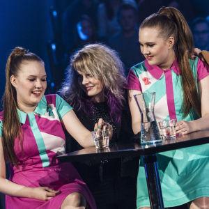 Attention 2 Uuden Musiikin Kilpailussa Karsinta 2:ssa.