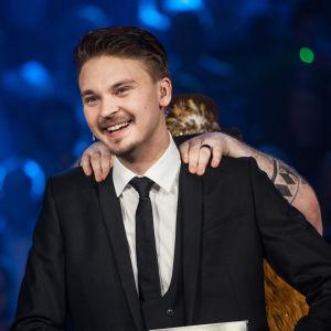 Roope Salminen Uuden Musiikin Kilpailussa Karsinta 1:ssä.
