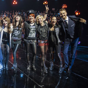 Uuden Musiikin Kilpailu 2016 Karsinta 3 finaaliin selviytyivät Barbe-Q-Barbies, Tuuli Okkonen ja Sandhja.