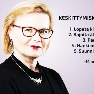 Tutkija Minna huotilainen
