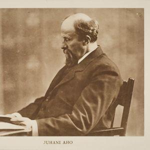 Kirjailija Juhani Aho