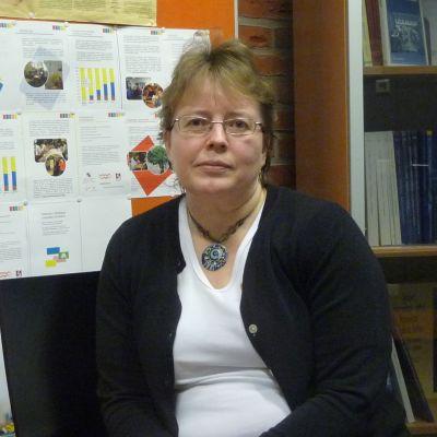 Siv Björklund, professor i språkbad vid Vasa universitet