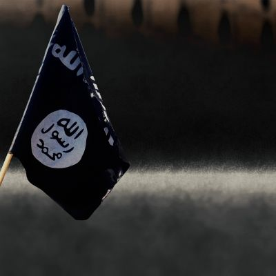ISIS-järjestön lippu.