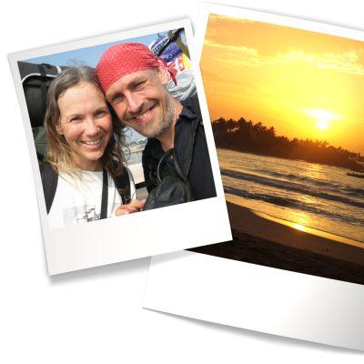 Polaroid-kuvia.
