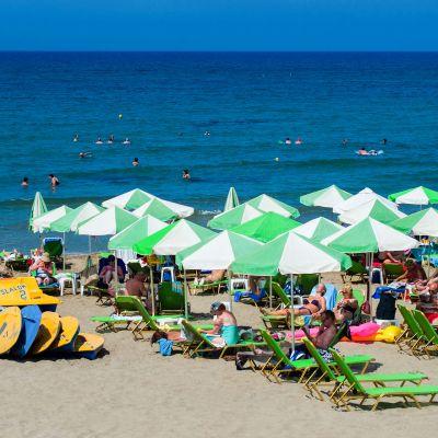 Stalis Beach, Kreeta, Kreikka.