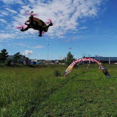 Porvoon ilmailukerhon drone-rata