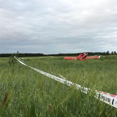 lento-onnettomuus, Kajaani