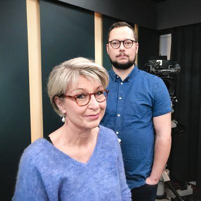 Paavo Teittinen ja Katri Kallionpää.