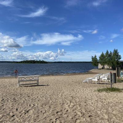 Kustaanlinnan uimaranta Vaasassa