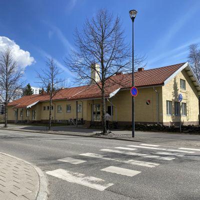 Päiväkotina toiminut Gävlenlinna kuuluu suojeltavien rakennusten joukkoon.