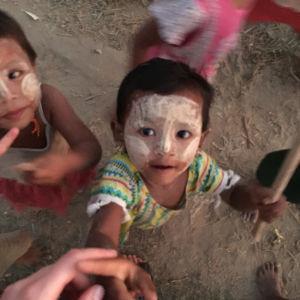 Burmesiska barn