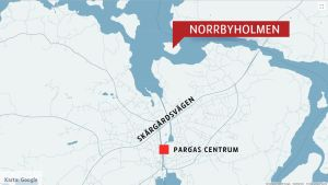 Karta, Norrbyholmen.