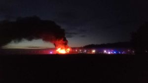 Brand i Halikko i Salo 14 september 2018.