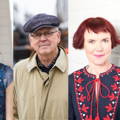 Asko Sahlberg, Anni Kytömäki, Antti Tuuri ja Rosa Liksom