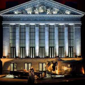 Bayreuthin musiikkijuhlien Jumalten tuho (2016): Brünnhilde (Catherine Foster)