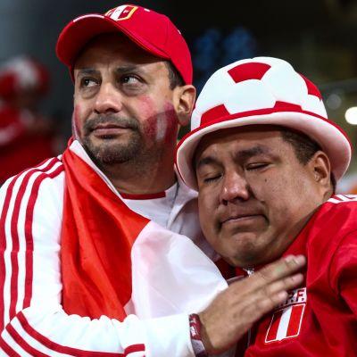 Perun fanit kokivat pettymyksen myös Jekaterinburgissa  Ranskaa vastaan.