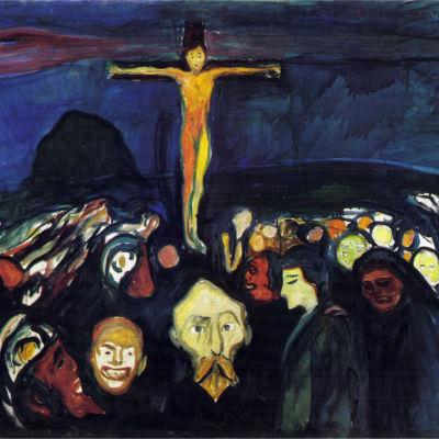Golgotha av Edvard Munch.