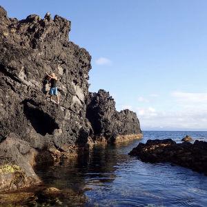 Jan Backmans lagun på ön Graciosa