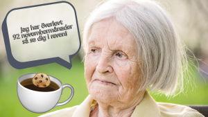 Mommo som tycker om kaffe och november