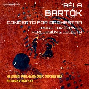 Bela Bartok äänitteen kansi