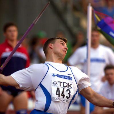 Aki Parviainen Sevilla MM 1999