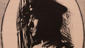 Elmer Diktonius armeijassa 1918.