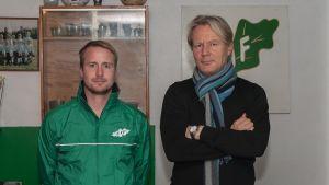 Jens Mattfolk, Kari Virtanen