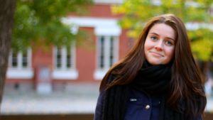 Vilma Jaakkola från Katedralskolan.