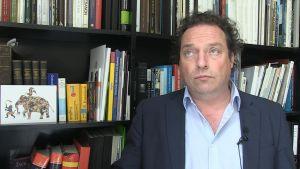 Professor Stefan Weber tog initativ till museiprojektet för flyktingar.